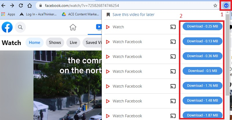 videodownloaderplus download fb