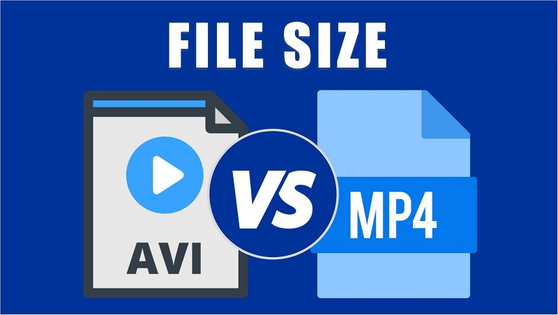 avi vs mp4 file size