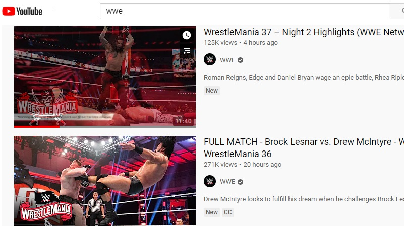 download wwe video youtube