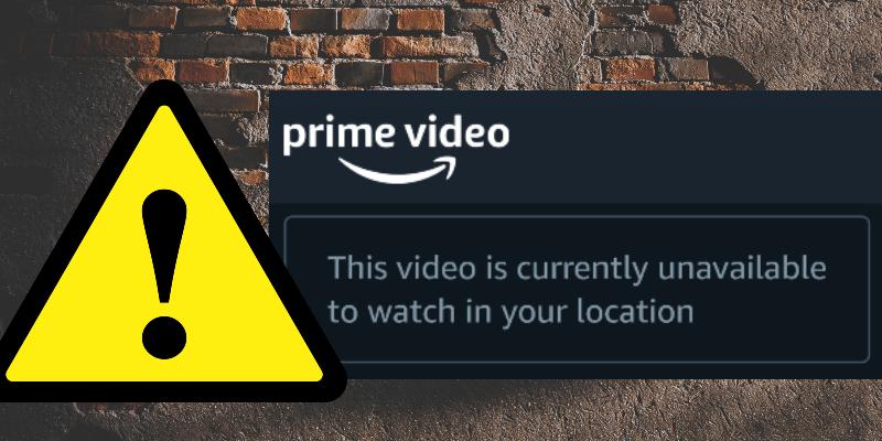 Hauptvideofehler
