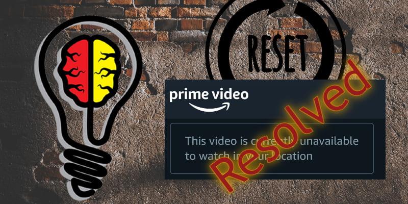 Prime-Video nicht verfügbar Aktualisieren