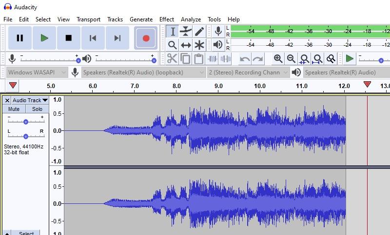 record audio win10 audacity2
