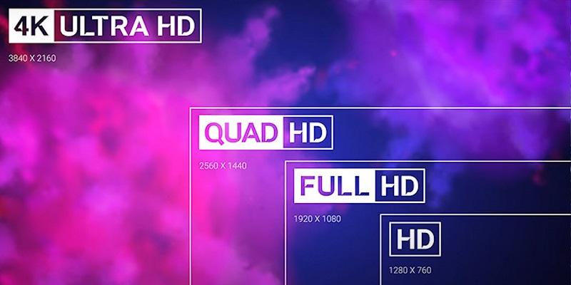 4k vs 1080p resolution