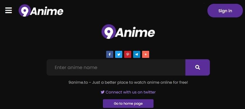 best anime sites 9anime