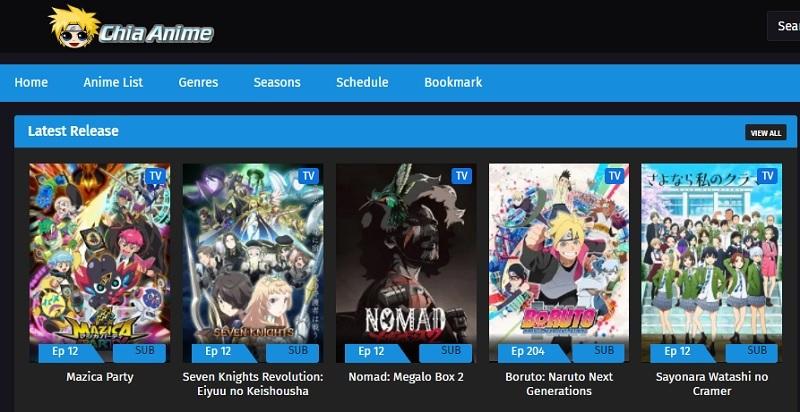 best anime sites chia anime