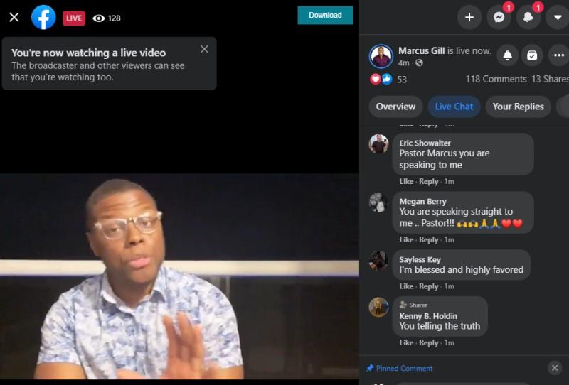 download facebook live video step2
