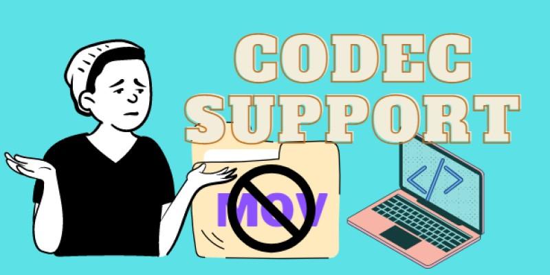 fix mov error cause codec support