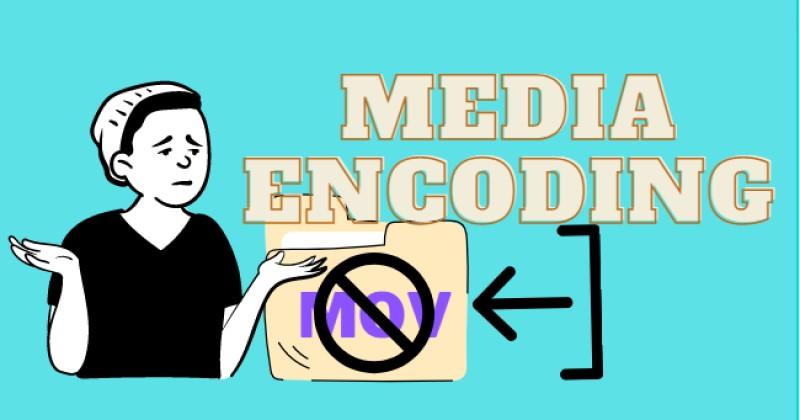 fix mov error cause media encoder