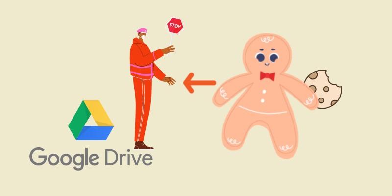 Cookie für Google Drive-Videofehler