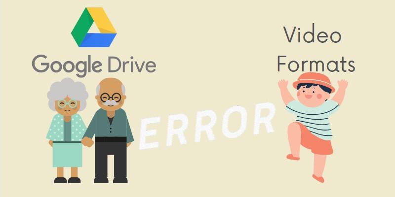 Google Drive Videofehler veraltete App