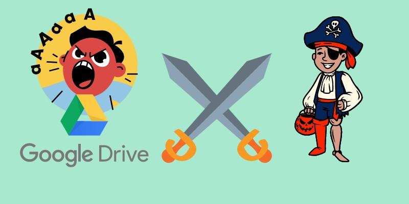 google drive videofehler raubkopierter inhalt