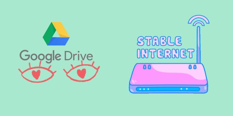 Google Drive Videofehler stabiles Internet