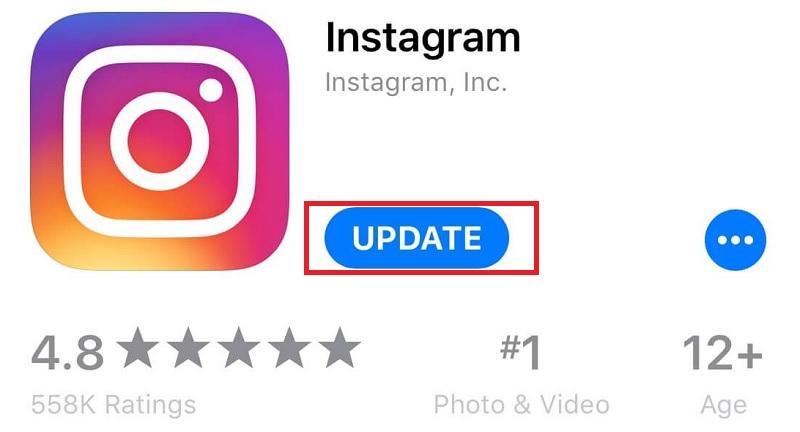 instagram update ios