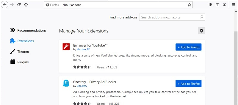 share youtube videos extension