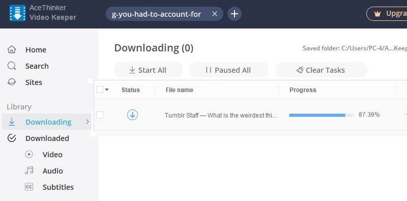 tumblr not working vk step4