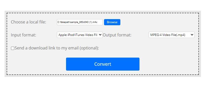 convert m4v video convertfiles