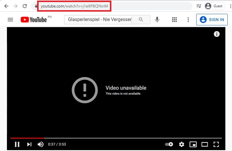 download blocked youtube video ovd step2