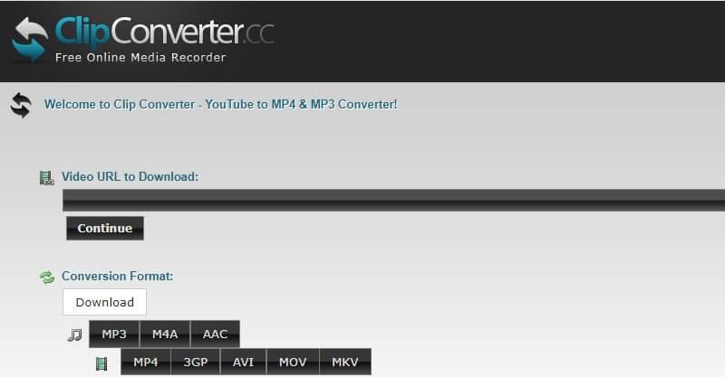 download youtube 720p clipconverter
