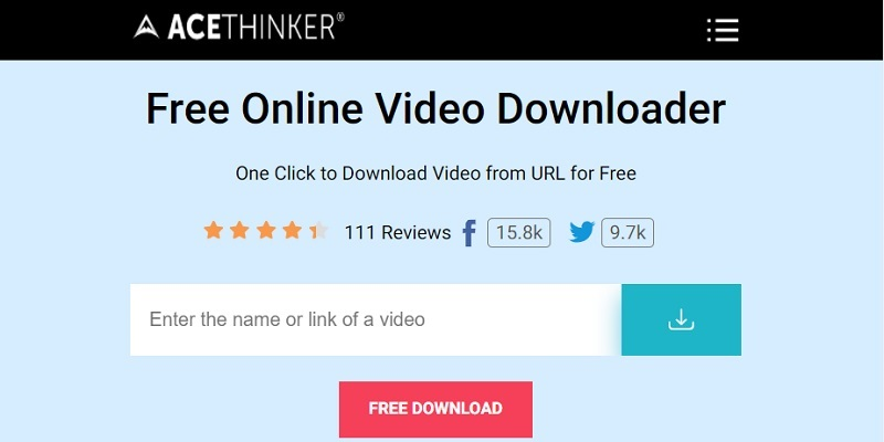 download youtube video to computer online step1