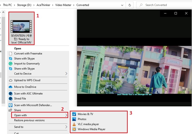 download youtube video with subtitles vm step4