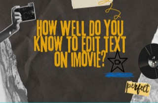 5 Solutions on How to Insert Text in iMovie and its Alternatives