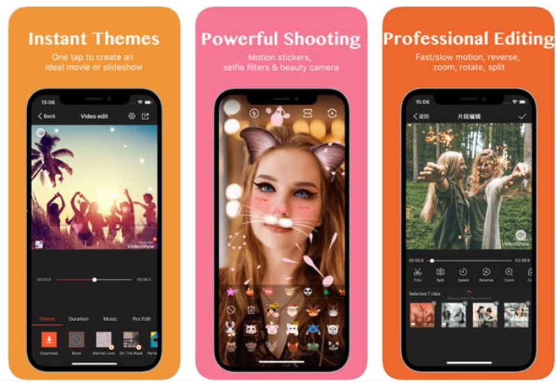 imovie for android videoshow pro