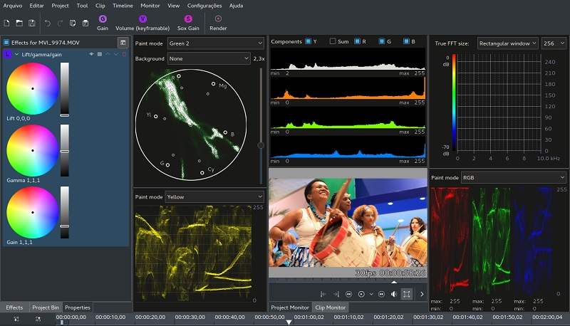 open source video editor kdenlive