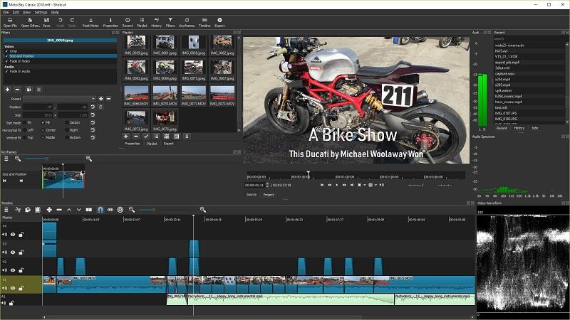 open source video editor shotcut