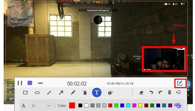record youtube live stream online step4