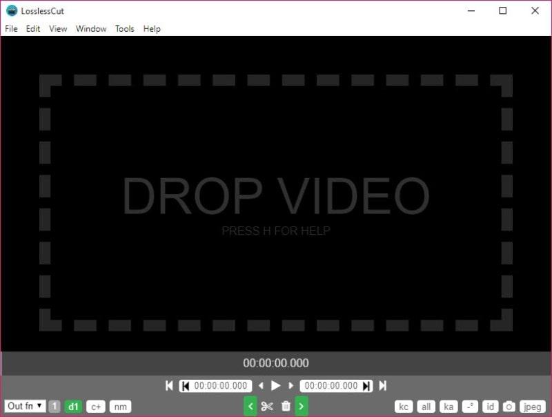 windows movie maker alternative losslesscut min