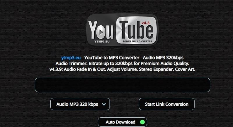 youtube audio ripper ytmp3