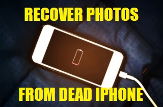 How to Retrieve Photos from Dead iPhone with or without Backup