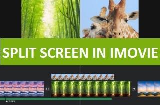 feature split screen in imovie