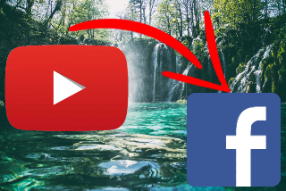 feature post youtube video on facebook