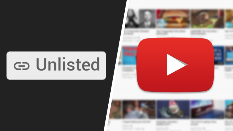 find unlisted youtube in youtube
