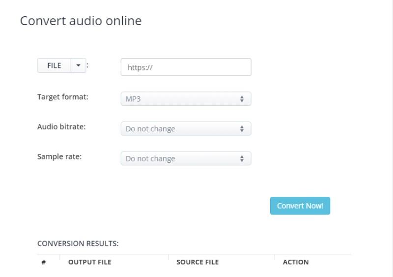free audio compressor aconvert