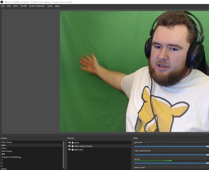 free green screen software obs