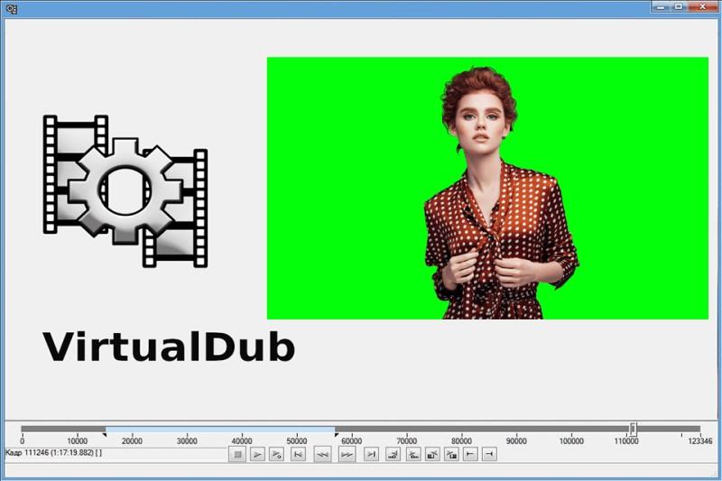 free green screen software virtualdub