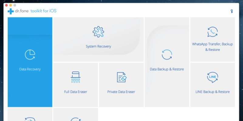 free iphone data recovery software dr.fone