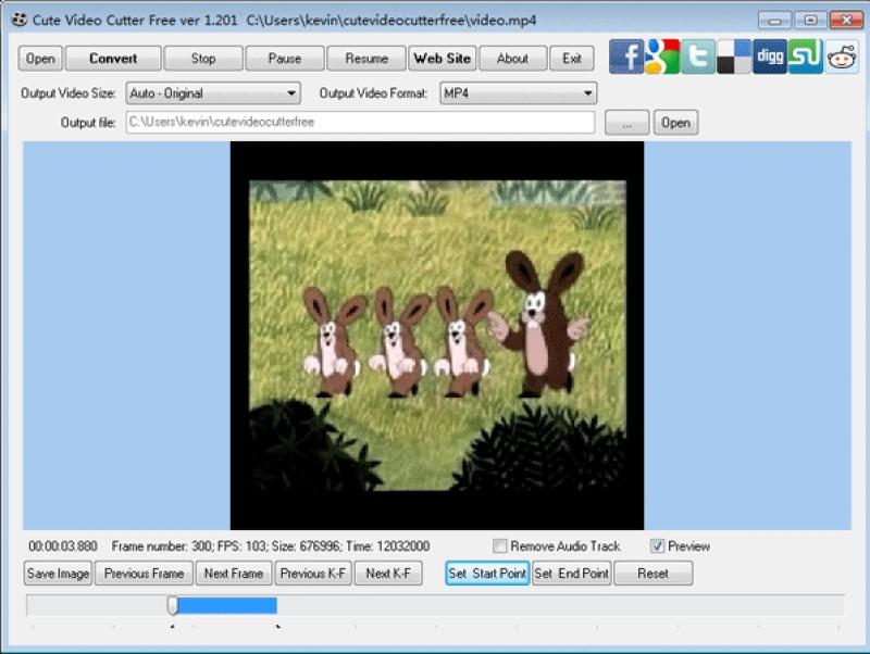 free video splitter cute video cutter
