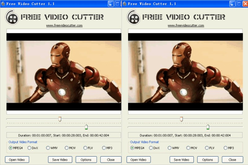 free video splitter free video cutter