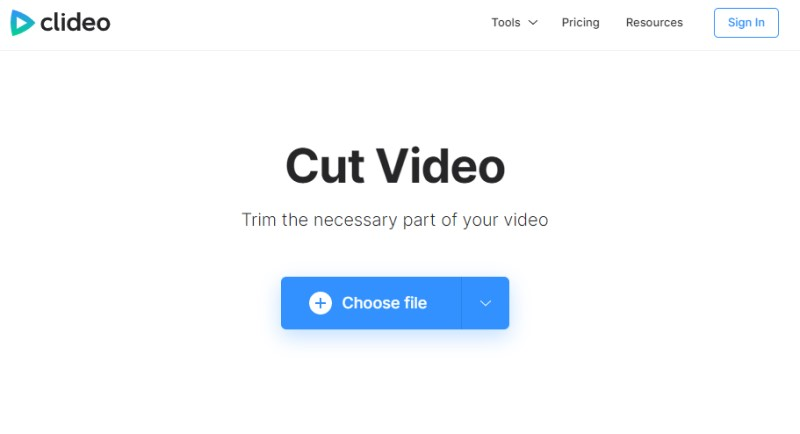 free video splitter online video cutter