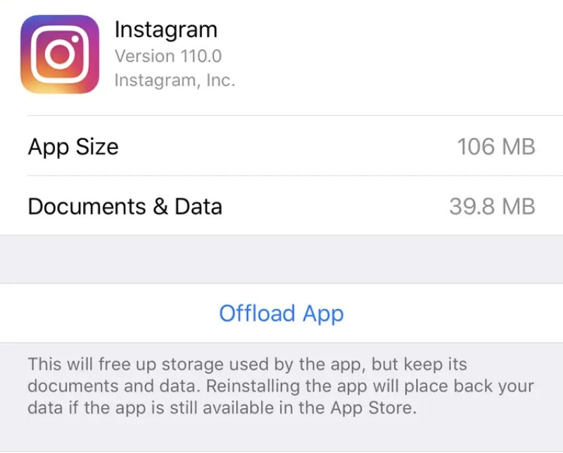 instagram not posting clear cache ios