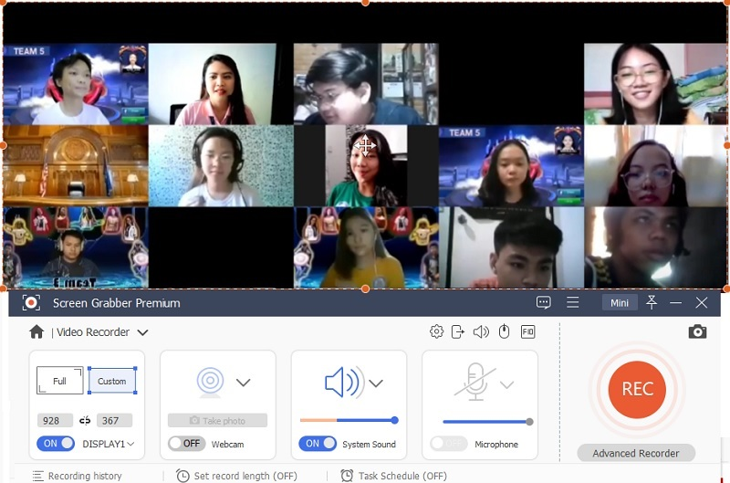 record zoom meeting sgp step3