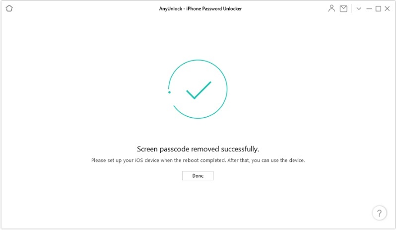 recover data from locked iphone anyunlock