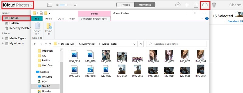 recover photos from dead iphone icloud
