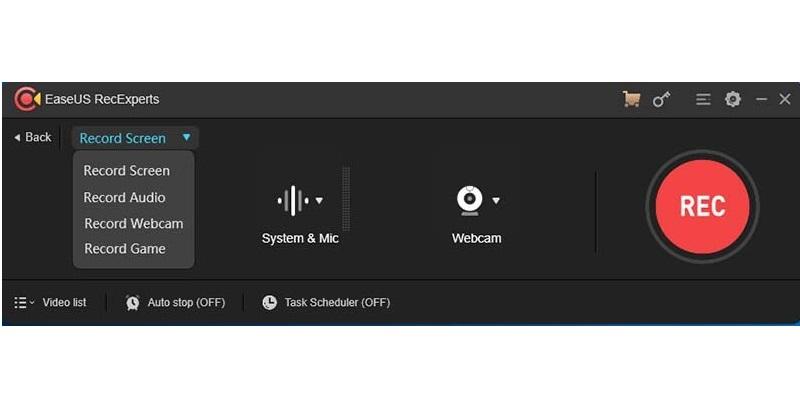 screen recorder no time limit easeus recexperts