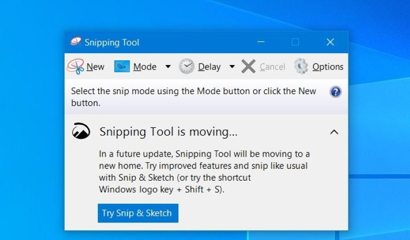 screenshot lenovo snipping tool