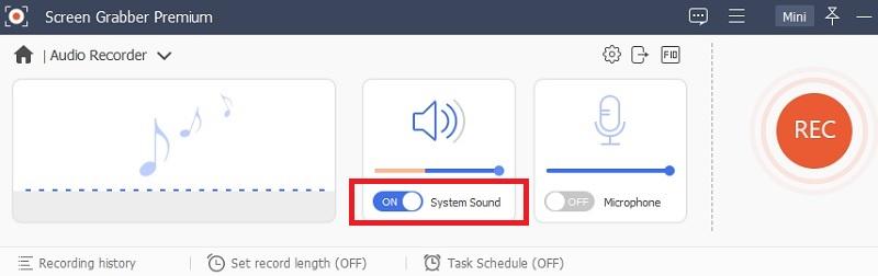 sgp audio recorder system sound