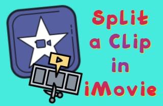 split a clip in imovie feature min
